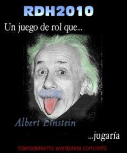 Un juego de rol que Albert Einstein jugaría